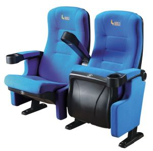 Multifunction Multiplex Cinema Theater Chair (HJ9504) pictures & photos