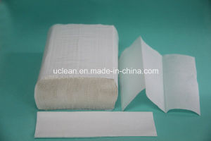 250sheets N Fold Virgin Hand Towel pictures & photos