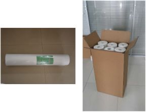 Absorbent Perforated Non-Woven Stretcher Bed Sheet pictures & photos