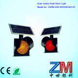 LED Solar Powered Traffic Flashing Light /Solar Warning Light pictures & photos