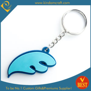Factory Price New Design Die Casting PVC Key Chain for Promotion in High Quality pictures & photos