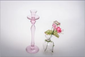 Pink Single Poster Candle Holder for Wedding Decoration pictures & photos