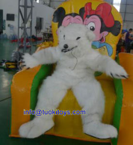 Popular Style Inflatable Bouncer Bear for Commercial Show and Trade Show (A076)