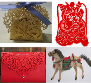 3D Laser Marking Machine for Paper Greeting Cards Engraving pictures & photos