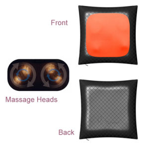 Rechargeable Cordless Kneading Massage Pillow Body Massage pictures & photos