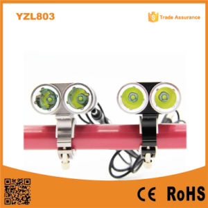 Most Powerful Rechargeable Aluminum Front Bicycle Light pictures & photos