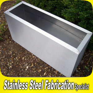 Rectangle Outdoor Stainless Steel Planter Pot for Garden Park pictures & photos