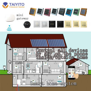 china iot domotic zigbee home automation wifi control rs485 433mhz smart home system china iot. Black Bedroom Furniture Sets. Home Design Ideas