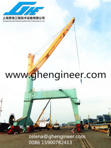Quayside Mobile Hydraulic Portal Crane pictures & photos