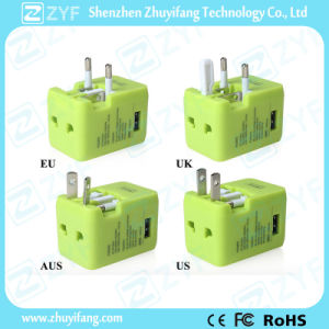 Universal Travel Adapter with USB Charger (ZYF9002) pictures & photos