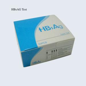 Hbsag Test Cassette, Rapid Test Kit, Test Strip, Test Card, Hepatitis B Hbsag Rapid Test Kits pictures & photos