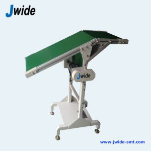 Wave Soldering Outfeed PCB Conveyor (DIP) with ESD Punching Holes pictures & photos