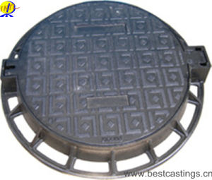 OEM Custom En124 D400 Ductile Iron Manhole Cover pictures & photos