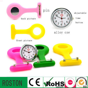 Silicone Nurse Pocket Watch with RoHS