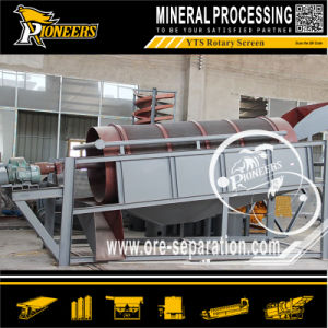 Small Mobile Trommel Screen Gold Ore Recovery Processing Wash Plant