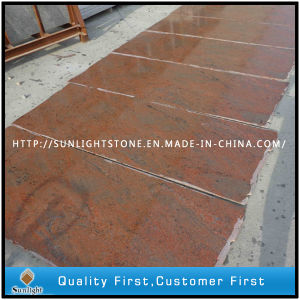 India Multicolor Red Granite Slabs for Countertops/Tombstone/Floor Tiles pictures & photos