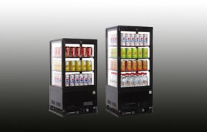 4 Glass Door Mini Bar Fridge with High Quality pictures & photos