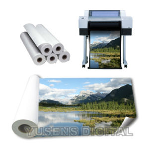 260GSM Glossy Inkjet Large Format Printing Media pictures & photos