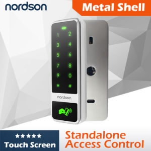 Fashion Design Metal Touch Screen RFID Card Access Controller for Single Door pictures & photos