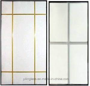 Decorative Cross Bar Glazed Glass pictures & photos