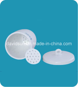 Laboratory Perforatated Crucibles with Lid and Dise Glazed pictures & photos