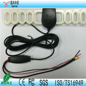 DVB-T Patch Antenna Car TV Antenna with SMA Connector (GKDVBT003) DVB-T Patch Antenna pictures & photos