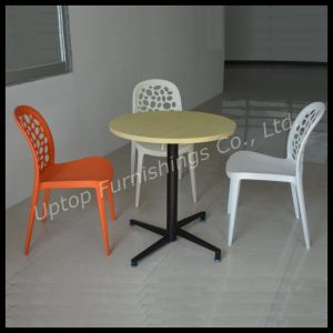 Folding Leisure Used Round Restaurant Dining Table (SP-RT375) pictures & photos