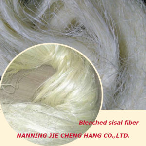 White and Strong Sisal Fiber of Low Impurity