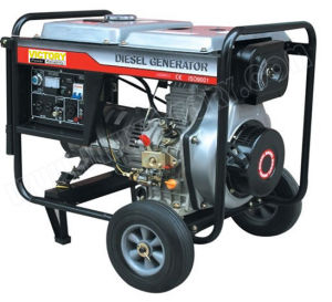 5kw Small Portable Diesel Generator with CE/CIQ/Soncap/ISO pictures & photos