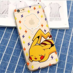 Pokeman Mobile Phone Accessories of TPU Case for iPhone6 pictures & photos