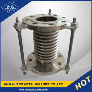 Stainless Steel Bellows Expansion Joint Compensator W/Flange pictures & photos