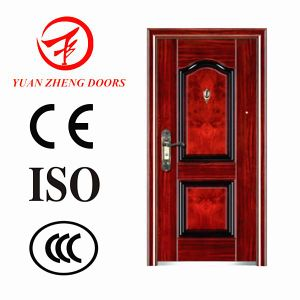 Zhejiang Factory Cheapest Price Security Steel Door with Good Quality pictures & photos