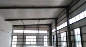 ISO Standard Prefabricated Steel Structure Workshop pictures & photos