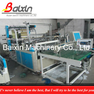 Automatic Collector Bottom Seal Plastic Bag Making Machine pictures & photos