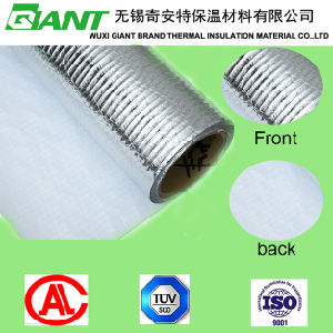 Reinforced Aluminum Film with White PVC (Flame retardant) pictures & photos