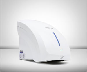 Wall-Mounted Mini Colorful Automatic Smart Hotel Toilet Hot/ Cold Wind Hand Dryer pictures & photos