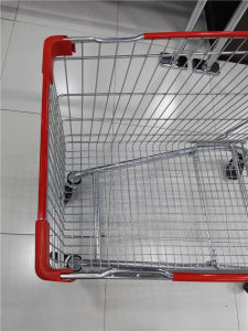 High Quality Popular European Style Shopping Trolley Cart pictures & photos