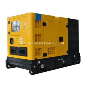 Soundproof Type Diesel Generator 3 Phase 15kw pictures & photos