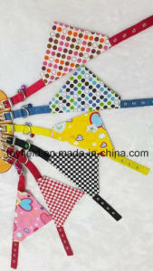 Pet Collar Leash Scarf Clothes Cotton Dog Bandana pictures & photos