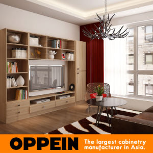Vietnam Apartment Modern Wood Grain Living Room Home Furniture Set (OP15-HOUSE2) pictures & photos