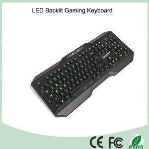 English Version Tri-Color LED Backlight Mechanical Game Keyboards (KB-1801EL) pictures & photos