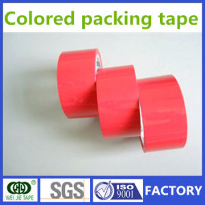 Weijie Hot Sell Strong Adhesive Colored BOPP Packing Tape From Factory pictures & photos
