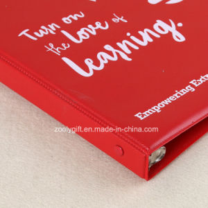 A4 Customized Logo Printing PVC 4D Ring Binder File Folder pictures & photos