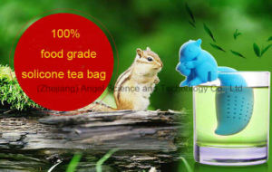 High Quality Squirrel Silicone Tea Bag Filter for Holiday St07 pictures & photos