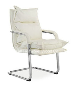 Comfortable Leather Conference Office Meeting Visitor Chair (HF-CH102C1) pictures & photos