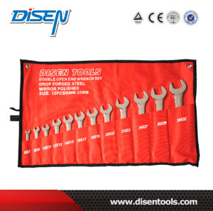 ANSI 6PS (6-17mm) Canvas Bag Packed Box End Wrench pictures & photos