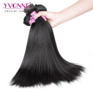 Natural Yaki Straight Cheap Brazilian Virgin Hair Extension pictures & photos