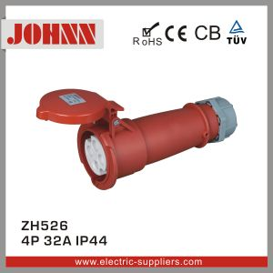 IP44 4p 32A Connector for Industrial with Ce Certification pictures & photos