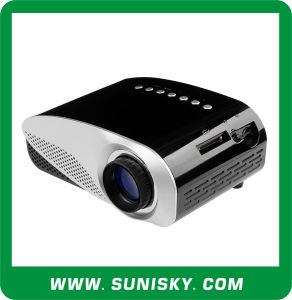 New Products LCD Pico Projector for Home Theatre (SMP8008) pictures & photos