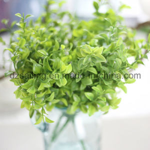 Plastic Leaves Aritificial Flower for Wedding/Home/Garden Decoration (SF16294) pictures & photos